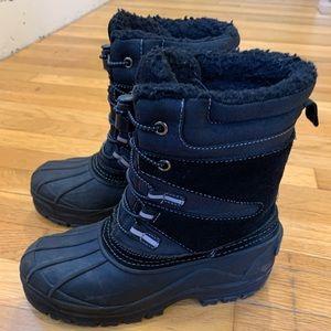 Kids Lands End Boots, Size 4